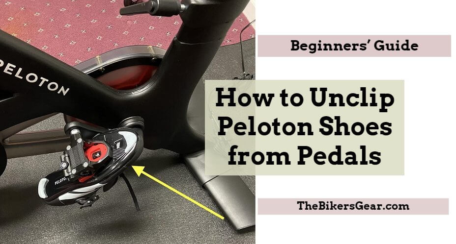 How to Unclip Peloton Shoes from Pedals